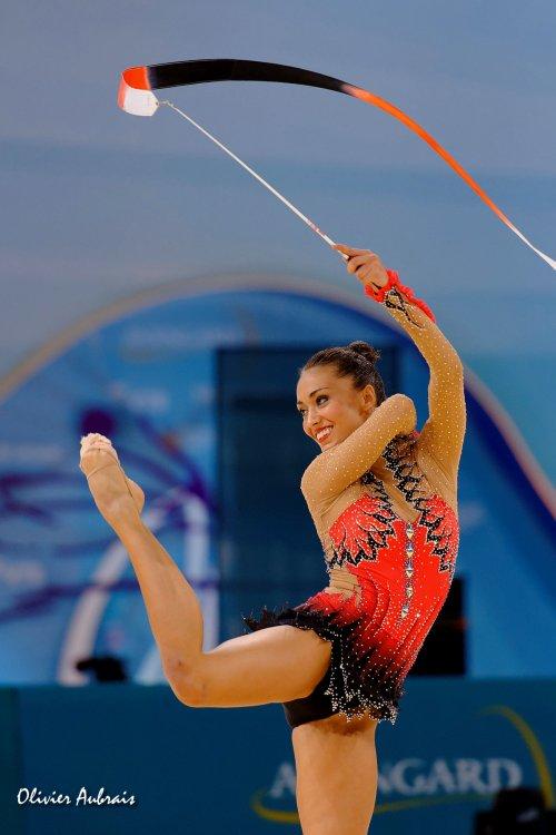 6394. Les championnats du Monde de GR à Kiev : Natalia Garcia (Espagne)