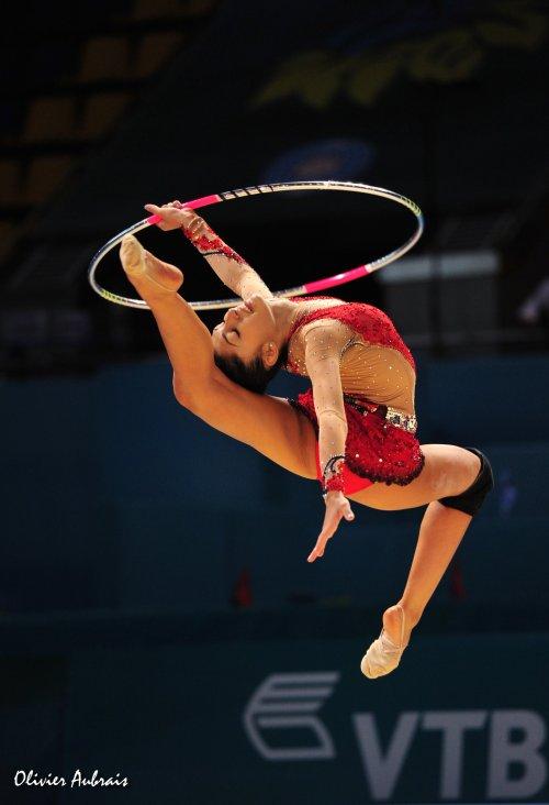 6395. Les championnats du Monde de GR à Kiev : Barbara Filiou (Grèce)
