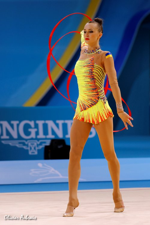 6397. Les championnats du Monde de GR à Kiev : Anna Rizatdinova (Ukraine)