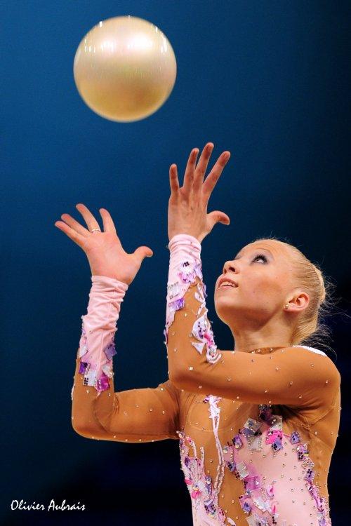 6399. Les championnats du Monde de GR à Kiev : Kseniya Moustafaeva (France)