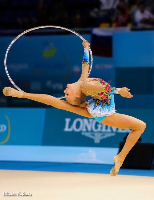 6402. Les championnats du Monde de GR à Kiev : Yana Kudryavtseva (Russie)