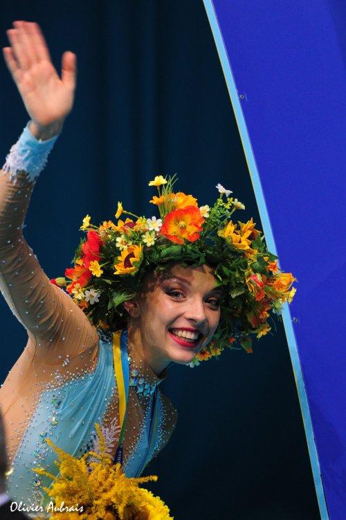 6403. Les championnats du Monde de GR à Kiev : les individuelles