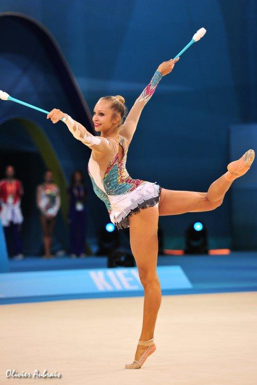 6404. Les championnats du Monde de GR à Kiev : ensemble France