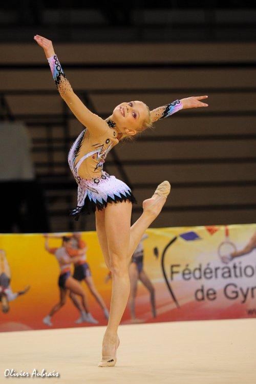 6415. Coupe Nationale Espoir 1 (2002) : Valérie Romenski (Nantes / pôlede Calais),1ère, 36,015 pts