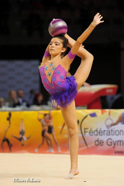 6416. Coupe Nationale Espoir 2 (2001) : Maéva Bergougne (Toulouse / pôle de Montpellier),9ème, 23,165 pts