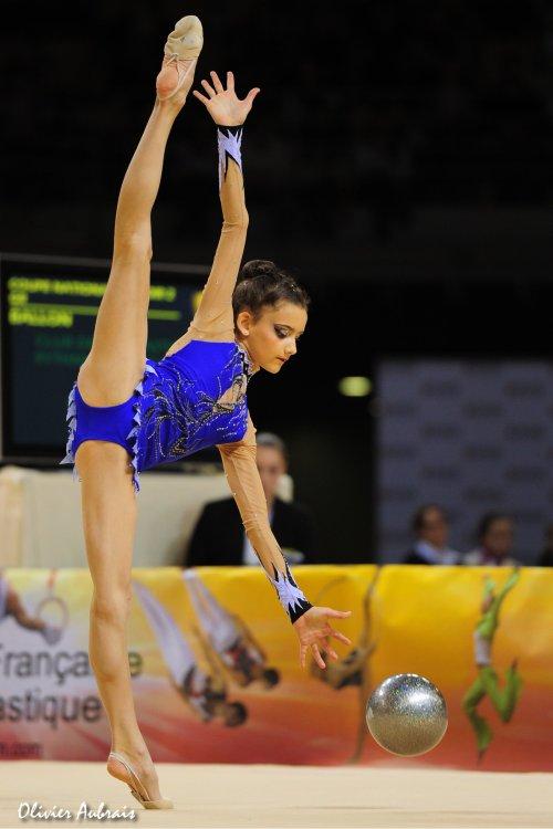 6423. Coupe Nationale Espoir 2 (2001) : Danaé Collard (Sucy-en-Brie/pôle d'Evry), 2ème, 38,449 pts