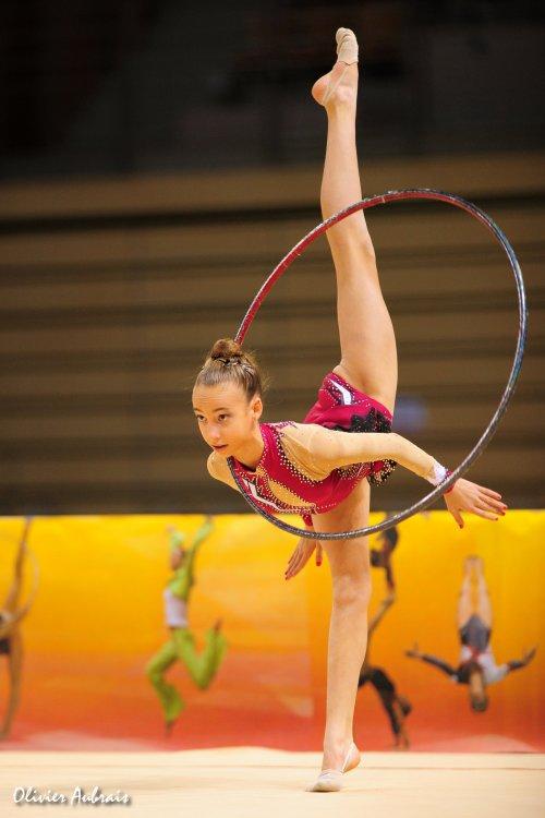 6427. Coupe Nationale Juniors : Julie Liénard (Nîmes / pôle de Montpellier), 18ème, 33,682 pts