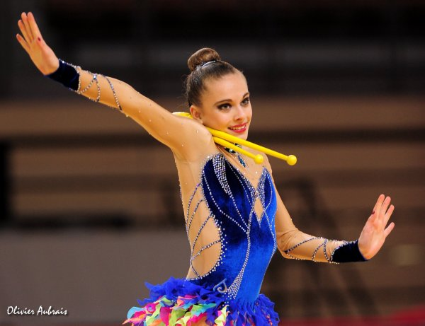 6436. Coupe Nationale Juniors : Charlotte Sprauel (Strasbourg), 9ème, 42,616 pts