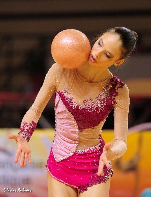 6446. Coupe Nationale Elite : Mathilde Lartigue (Montpellier), 7ème, 44,949 pts
