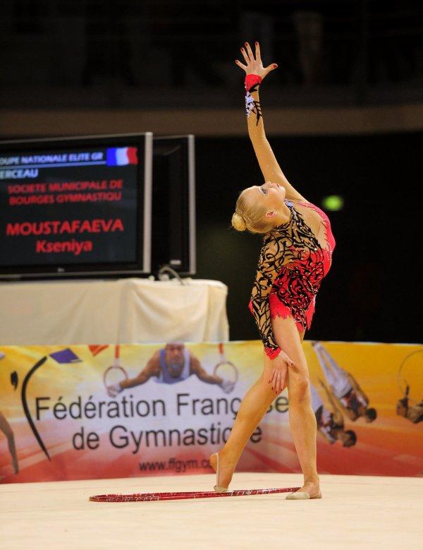 6452. Coupe Nationale Elite : Kséniya Moustafaeva (Bourges / INSEP), 1ère, 67,583 pts