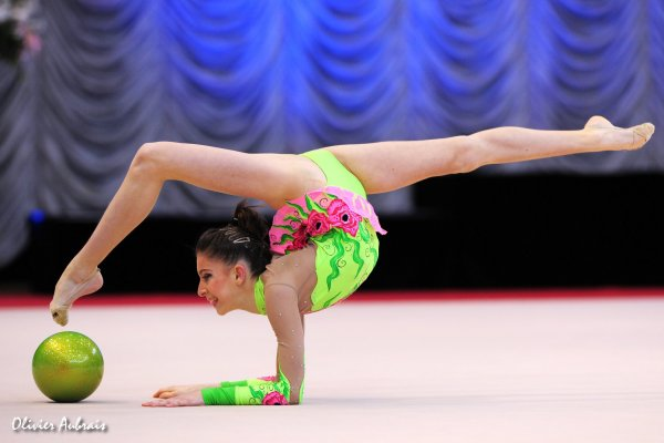 6473. Les juniors françaises à Tartu en février 2013 : Marie Allgayer
