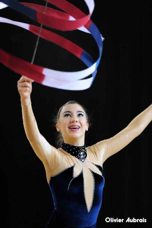 6494. Chpt de France Indiv Fédérale cadette : Lisa Rognon (Orléans), 25ème, 16,666 pts