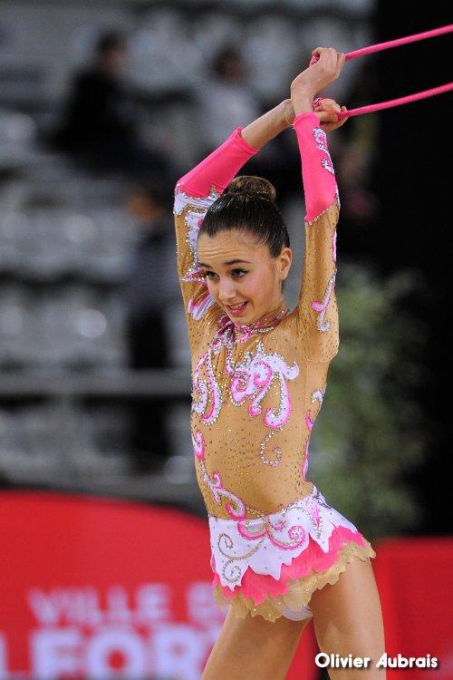 6535. Chpt de France Indiv Nat B minimes : Emma Simo (Sollies), 16ème, 17,566 pts