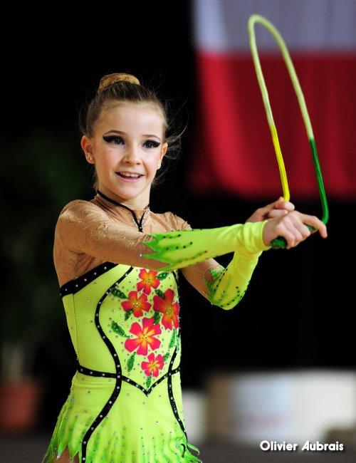 6548. Chpt de France Indiv Nat B minimes : Mathilde Monnin (Belfort), 3ème, 21,400 pts