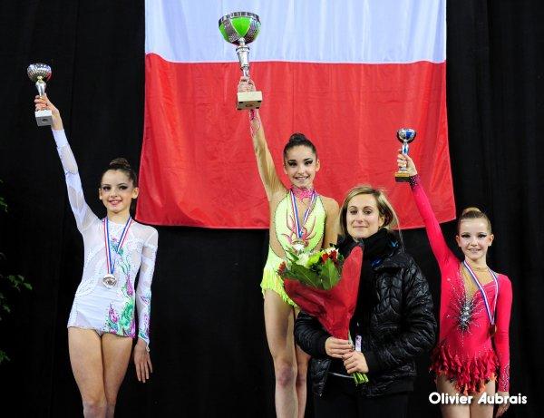 6551. Chpt de France Indiv Nat B minimes : le podium
