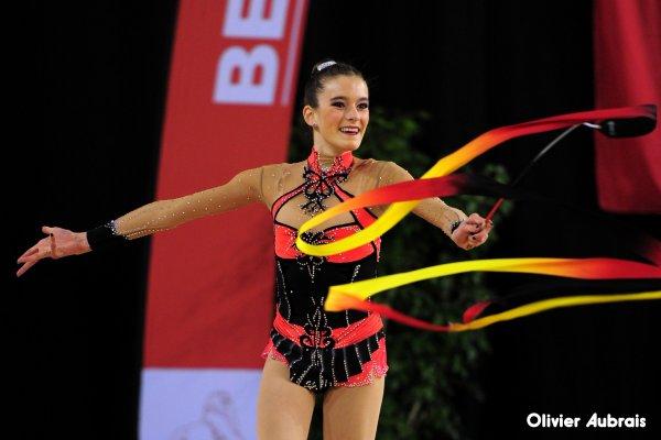 6567. Chpt de France Indiv Nat B cadettes : Orianne Bégon (Chambéry), 16ème,18,249 pts