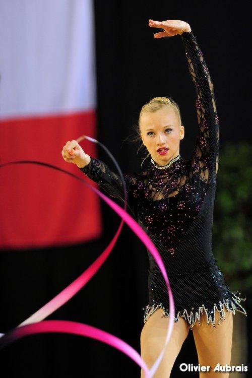 6575. Chpt de France Indiv Nat B cadettes : Lisa Kohler (Pfastatt), 8ème,19,550 pts