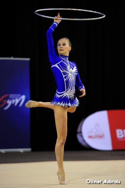 6584. Chpt de France Indiv Nat B juniors : Victoria Szymanski (Elancourt), 26ème, 16,016 pts