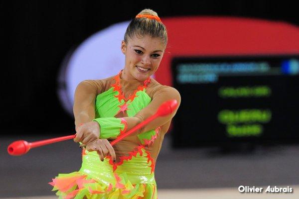 6589. Chpt de France Indiv Nat B juniors : Marion Nobili (La Garde), 21ème, 19,066 pts