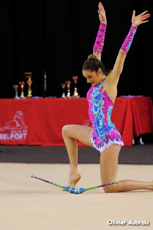 6590. Chpt de France Indiv Nat B juniors : Emma Thiérion (Montpellier), 20ème, 19,633 pts