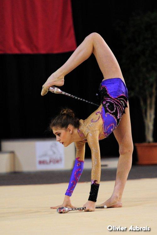 6592. Chpt de France Indiv Nat B juniors : Susie Quéru (Calais), 18ème, 19,933 pts