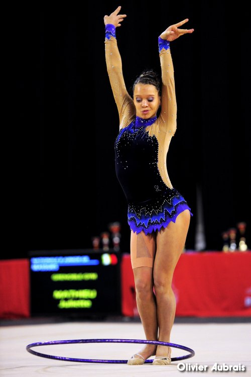 6594. Chpt de France Indiv Nat B juniors : Elisa Crochemore (St-Lô), 16ème, 20,400 pts
