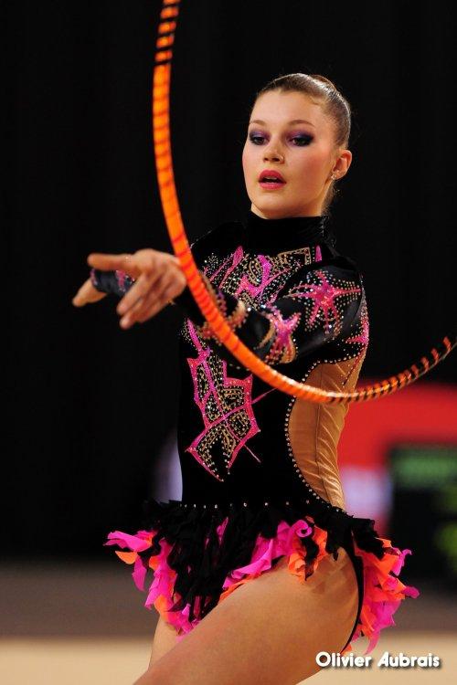 6597. Chpt de France Indiv Nat B juniors : Nina Ramsayer (Thionville), 13ème, 21,516 pts