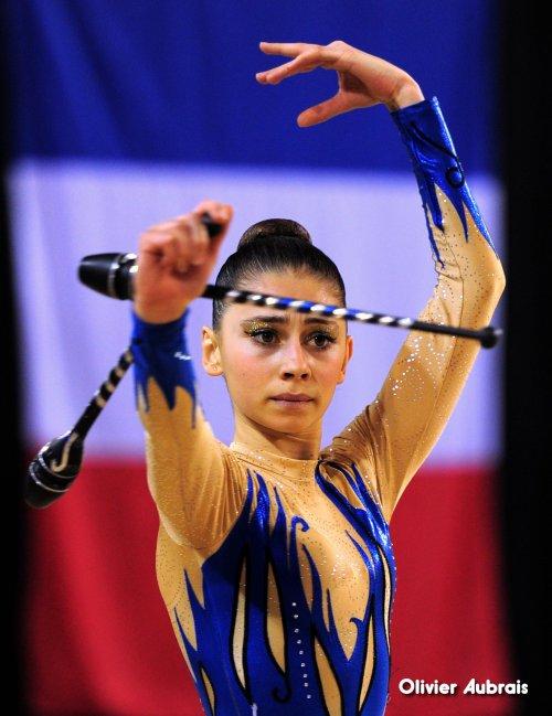 6599. Chpt de France Indiv Nat B juniors : Charlotte Nasica (Sollies), 11ème, 21,716 pts