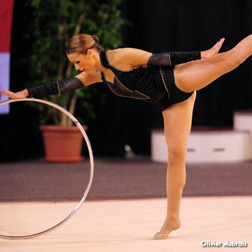 6619. Chpt de France Indiv Nat B seniors : Elise Ranz (Villeneuve d'Ascq), 21ème, 19,432 pts