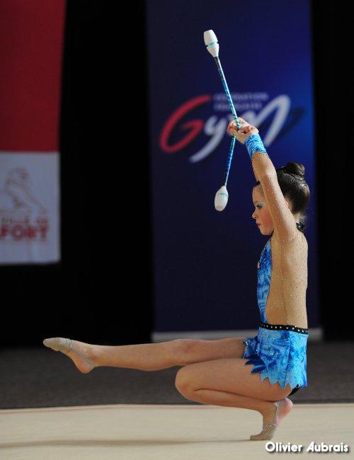 6644. Chpt de France Critérium minimes : Elsa Bruder (Pfastatt)