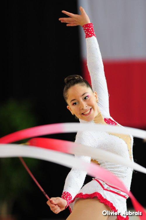 6665. Chpt de France Critérium cadettes : Gaëlle Alla (Béziers)