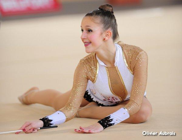 6667. Chpt de France Critérium cadettes : Mathilde Auer (Pfastatt)
