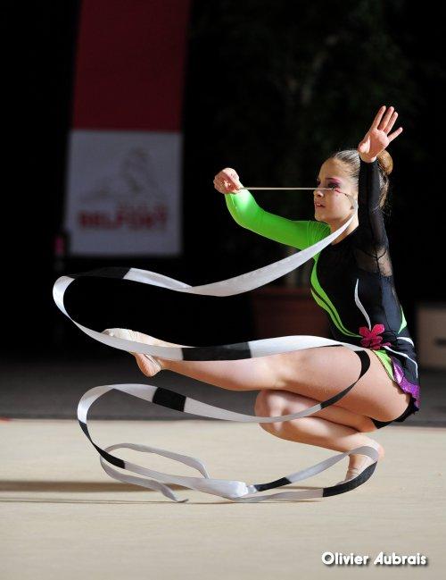 6689. Chpt de France Critérium cadettes : Kristina Torremocha (Corbas)