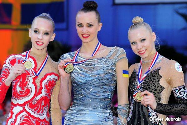 6702. Corbeil 2014 : une première médaille en Coupe du Monde pour Kséniya !