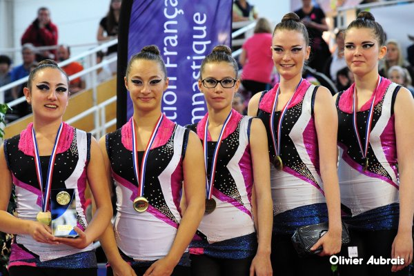 6719. Chpt de France Div Critérium à St-Brieuc. DC2 juniors-seniors : Bourg-de-Péage, 3èmes