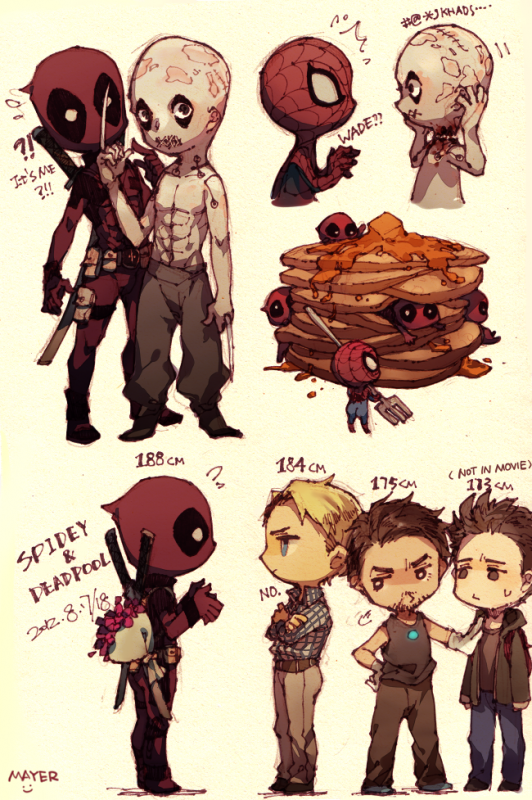 Deadpool vs family