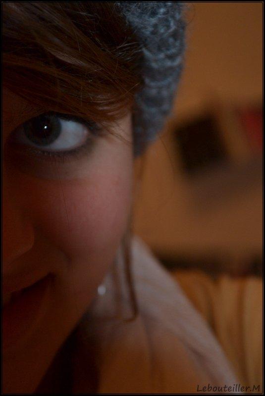 Auto portrait.
