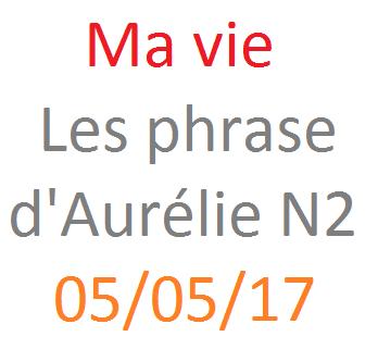 Les phrases d'Aurélie N2