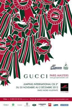 Le salon du cheval à paris + GUCCI PARIS MASTERS