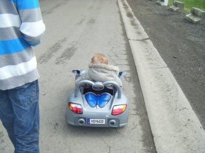 tit tour pour essayer la voiture!