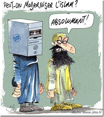 Moderniser l'islam, ah sa éxiste? Non!!!!!