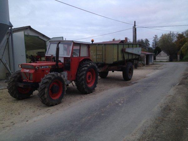 voici mon tracteur que je vien d'acheter un same LEONE 75