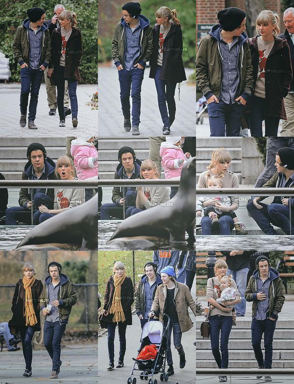 Le 02.12 Taylor était de sortie à New York en compagnie de Harry Styles, ils semblent très proches et Tay à l'air ravie de cette balade !
