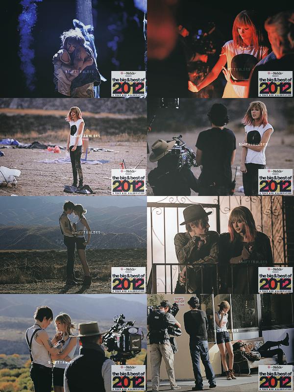 De nouvelles photos BTS du clip de I Knew You Were In Trouble (taguée malheureusement...), la vidéo sera disponible le 13.12, jour de l'anniversaire de Taylor !