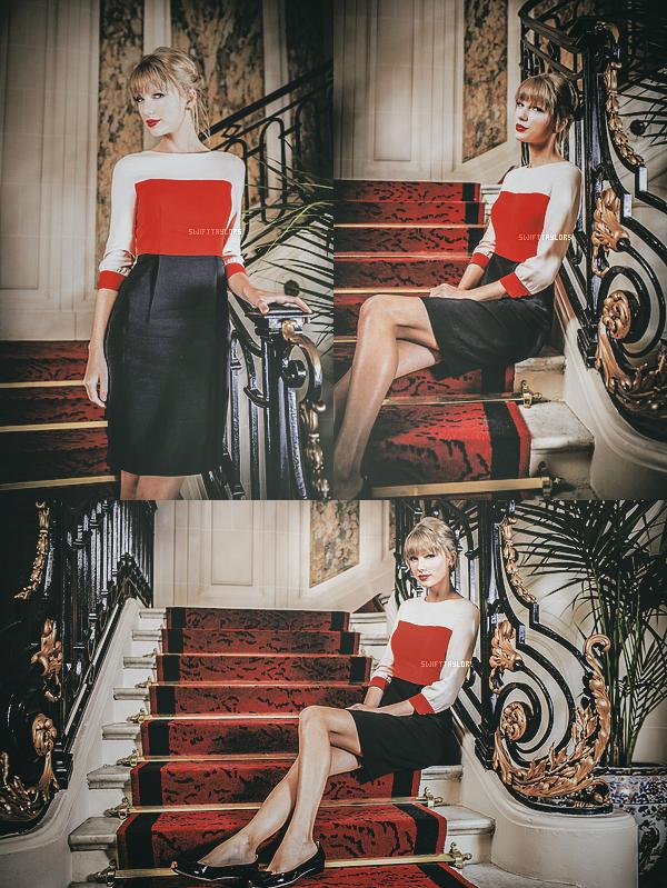 Déocuvres un photoshoot de Taylor pour Paris Match, elle est magnifique ! + Safe & Sound a été nominé au Golden Globe !!