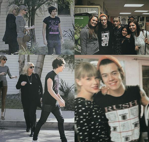 Hier Taylor est apparue dans l'émission allemande Bristant ! Elle passera les fêtes en compagnie d'Harry et de sa famille à Nashville. En parlant de sa famille, elle a été vue avec sa mère et Harry devant son domicile en Californie. TOP !