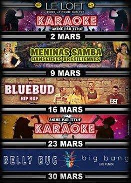 Soirée BlueBud au Loft !! Jeudi 16 Mars !!