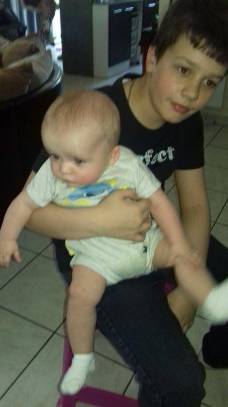 deux de mes petit fils ...je vous adore mes amour