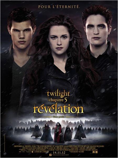 ADAPTATION : Twilight 5 - Révélation 2ème partie (2012)