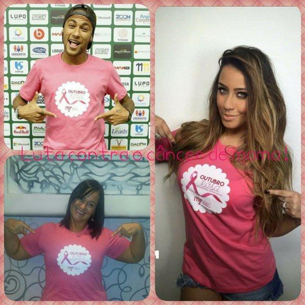 • Luta contra o câncer de mama ! •
